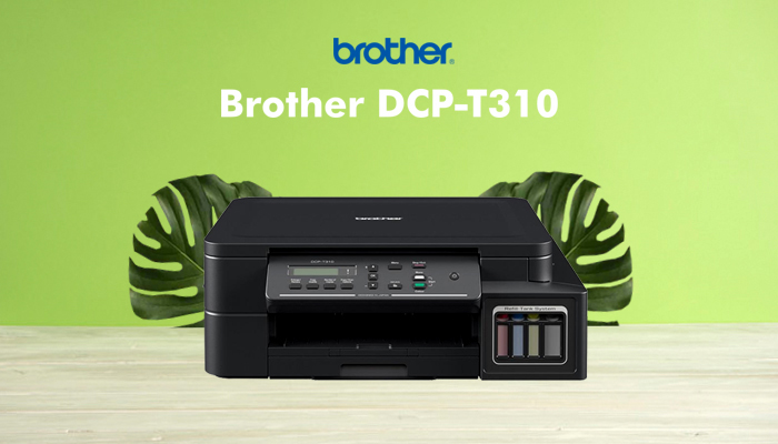 review printer brother dcp t310