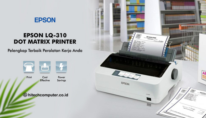 jual printer epson lq 310 dot matrix murah di semarang