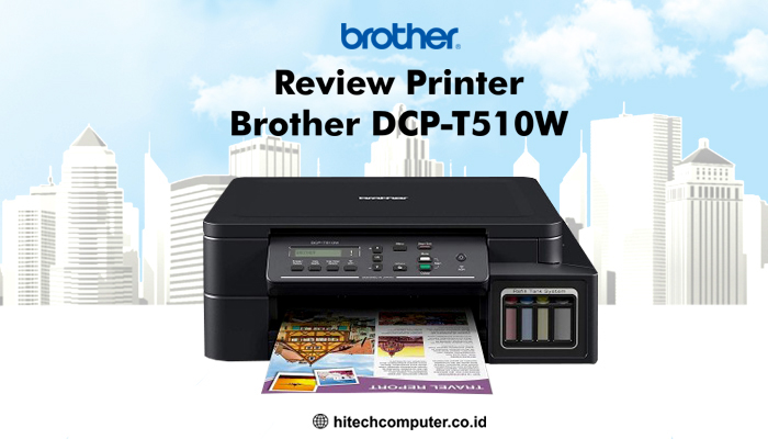 review printer brother dcp t510w