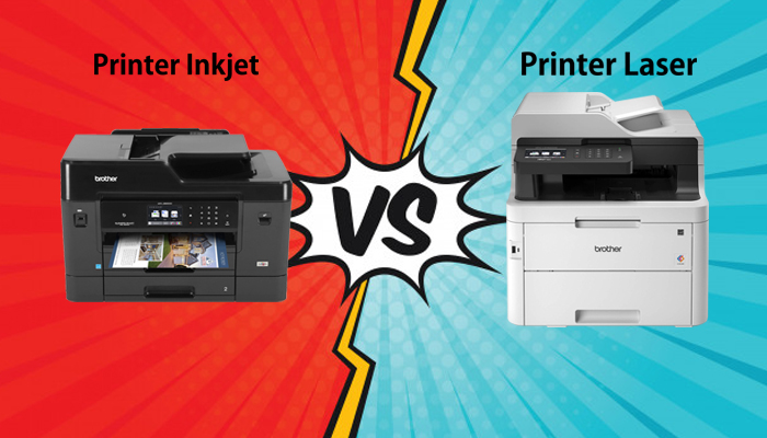 perbandingan printer inkjet vs printer laser